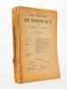Revue historique de Bordeaux et du Département de la Gironde, Troisème Année - 1910 ( Année complète, 6 numéros ). Collectif ; Revue historique de ...