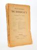 Revue historique de Bordeaux et du Département de la Gironde,  Cinquième Année - 1912 ( Année complète, 6 numéros ). Collectif ; Revue historique de ...