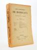 Revue historique de Bordeaux et du Département de la Gironde, Sixième Année - 1913 ( Année complète, 6 numéros ). Collectif ; Revue historique de ...