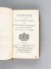 Eloges lus dans les Séances publiques de l'Académie Françoise [ française ] [ Edition originale ]. D'ALEMBERT