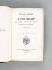 Le Gouvernement, les Moeurs et les Conditions en France avant la Révolution. Portraits des personnages distingués de la fin du XVIIIe siècle.. SENAC ...