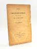 Notes sur l'organisation générale civile et militaire de l'Indo-Chine [ Edition originale ]. DETROYAT, Léonce