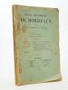 Revue historique de Bordeaux et du Département de la Gironde, Vingt-Troisième Année - 1930 ( Année incomplète, 4 numéros sur 5 ) : Num. 1 ; 3 ; 4 ; 5. ...