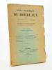 Revue historique de Bordeaux et du Département de la Gironde, Trente-quatrième Année - 1941 ( Année complète, 4 numéros en deux volumes). Collectif ; ...