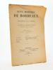 Revue historique de Bordeaux et du Département de la Gironde, Trente-Huitième Année - 1945 ( Année complète en un seul numéro ). Collectif ; Revue ...
