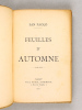 Feuilles d'Automne [ Edition originale ]. SAN PAOLO