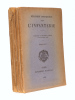 Règlement d'instruction pour l'infanterie, traduction du règlement allemand du 26 octobre 1922 [ Règlement de la Reichswehr ] : Fascicule n° I ; ...