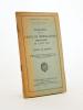 Instruction provisoire pour les unités de mitrailleuses d'infanterie du 2 août 1932, Tables et Abaques. Ministere de la Guerre, Direction de ...