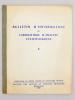 Bulletin d'information du laboratoire d'analyse lexicologique ( lot de 6 vol., numéros I à VI ) : I ; II ; III ; IV ; V ; VI. Faculté des lettres et ...