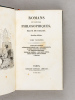 Romans et Contes Philosophiques. Tome 3  [ Edition originale ] L'Enfant Maudit - L'Elixir de Longue Vie - Les Proscrits - Le Chef-d'Oeuvre Inconnu - ...