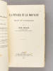 La Pensée et le Mouvant. Essais et Conférences [ Edition originale - Livre dédicacé par l'auteur ]. BERGSON, Henri