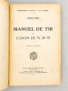 Manuel de Tir du Canon de 75, Mle 97 , Approuvé le 21 décembre 1941. Secrétariat d'Etat à la Guerre