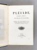 La Pléiade. Ballades, Fabliaux, Nouvelles et Légendes. Homère, Véda-Vyasa, Marie de France, Burger, Hoffmann, Ludwig Tieck, Ch. Dickens, Gavarni, H. ...