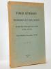 Tables générales des mémoires et bulletins de la Société des Antiquaires de l'Ouest. (3e série : 1907-1948). GROSSET, Charles ; LABANDE, Edmond-René