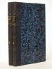 Itinéraire de Paris à Jérusalem , précédé d'une étude par M. A. de Pontmartin (2 tomes, complet). CHATEAUBRIAND, F. de [ François-René ]