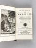 Etudes de la Nature (5 Tomes - Complet) Tomes I, II, et III [ Edition originale ] ; Tome IV Quatrième édition [ Seconde édition de Paul et Virginie ] ...