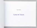Carnet de Tunisie. ABADIE, Lélie ; Plègues, Frédéric (introd.)