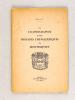 De l'Iconographie et des Origines Chevaleresques de Montesquieu [ Edition originale dédicacée par l'auteur ]. M. de la P. ; [ DE LAPOUYADE, Maurice ...