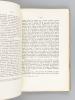 Avec les Manuscrits arabes (Souvenirs sur les livres et les hommes). KRATCHKOVSKY, I. ; (CANARD, M. ; KRATCHKOVSKY)