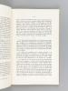 Les Villes musulmanes de l'Afrique du Nord [ Edition originale ]. LE TOURNEAU, Roger