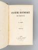 Le Système historique de Renan (5 Parties - Complet) [ Edition originale -  Livre dédicacé par l'auteur à Vilfredo Pareto et signé par Pareto ] I : ...