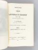Histoire du Séminaire de Saint-Nicolas du Chardonnet 1612-1908 d'après des documents inédits (2 Tomes -Complet) [ Edition originale ] Quelques pages ...