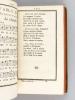 Trois Cens Fables, en Musique, dans le Gout de M. De La Fontaine (2 Tomes - Complet) [ Edition originale ] Notées sur des Airs connus, Vaudevilles, ...