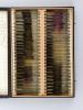 3 boîtes recueillant 211 préparations microscopiques [ 100, 96 et 15 ] de vins, datées du 1er avril 1935 au 10 mars 1937. Anonyme ; [ DUBAQUIE, Abbé ]