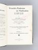 Procédés Modernes de Vinification en Algérie et dans les Pays Chauds (2 Tomes - Complet) [ Livre dédicacé par l'auteur ] Tome I : Procédés Modernes de ...