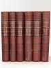 Oeuvres complètes de Buffon avec des extraits de Daubenton et la classification de Cuvier (6 Tomes - Complet) Tome I : Matières générales. Théorie de ...