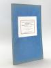 Visite au Service Sanitaire Maritime et Quarantenaire d'Egypte. Conférence faite au XVIe Congrès d'Hygiène, Paris, 1929 [ Edition originale ]. ...