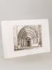 Porte de l'Eglise d'Arsac [ Eau-forte originale extraite de la Revue Catholique de Bordeaux : Portail de l'Eglise Saint Germain d'Arsac ]. DROUYN, Léo