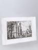 Abside de Saint André [ Eau-forte originale extraite de la Revue Catholique de Bordeaux : Abside de la Cathédrale Saint André de Bordeaux ]. DROUYN, ...