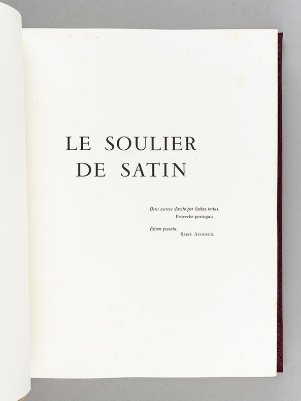 Claudel Paul Brayer Yves Le Livre Rare Book