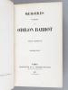 Mémoires posthumes de Odilon Barrot (4 Tomes - Complet). BARROT, Odilon
