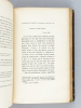 Une Femme du Monde au XVIIIe. La Jeunesse de Madame d'Epinay d'après des Lettres et des Documents inédits [ Avec : ] Dernières Années de Madame ...