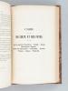 Le Judaïsme. [ Edition originale ] Esquisse des Moeurs Juives. Croyances, Rites religieux, Mobilier, Naissance, Mariage, Décès, Funérailles, ...