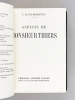 Aspects de Monsieur Thiers. LUCAS-DUBRETON, J.