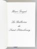 La Ballerine de Saint-Pétersbourg [ Edition originale ]. TROYAT, Henri