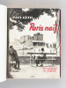Paris naïf. 64 photographies de Georges Glasberg [ Livre dédicacé par l'auteur - Edition originale ]. GUTH, Paul ; GLASBERG, Georges