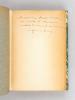 Formation et Evolution de Paris [ Edition originale - Livre dédicacé par l'auteur ]. POETE, Marcel