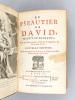 Le Pseautier de David, traduit en François, Avec des Notes courtes, tirées de S. Augustin, & des autres Pères [ Psautier de David ]. Collectif