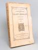 Etudes municipales sur la Charité Bordelaise. Première Partie : L'enfance. Tome 1er [ Edition originale ]. PELLEPORT, Vicomte de ; (DE ...