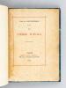 La Vierge d'Avila [ Edition originale - Livre dédicacé par l'auteur ]. SAINT-CHERON, René de