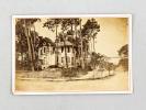 """Photo ancienne de la Villa """"Moulin Rouge"""" à Arcachon. STOERK, J."""