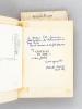 """Le Livre des Prières """"Poèmes"""" [ Manuscrit autographe signé par l'auteur ] [ On joint : ] Châteaux en Mer [ Livre dédicacé par l'auteur ] [ On joint : ..."""