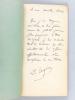 Du Service des Blessé pendant un Combat Naval [ Edition originale - Livre dédicacé par l'auteur ]. GILBERT-DESVALLONS, Docteur E.