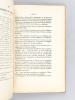 Gouvernement général de l'Afrique Occidentale Française. Justice Indigène. Instructions aux Administrateurs sur l'application du Décret du 16 août ...