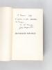 Jean-Jacques Rousseau, ou le démocrate par dépit [ exemplaire dédicacé par l'auteur ]. CHARPENTIER, John (1880-1949)