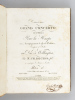 Deuxième Grand Concerto dit le Militaire, Pour la Harpe avec Accompagnement de Grand Orchestre, Composé et dédié au Duc de Wellington par N. Ch. ...